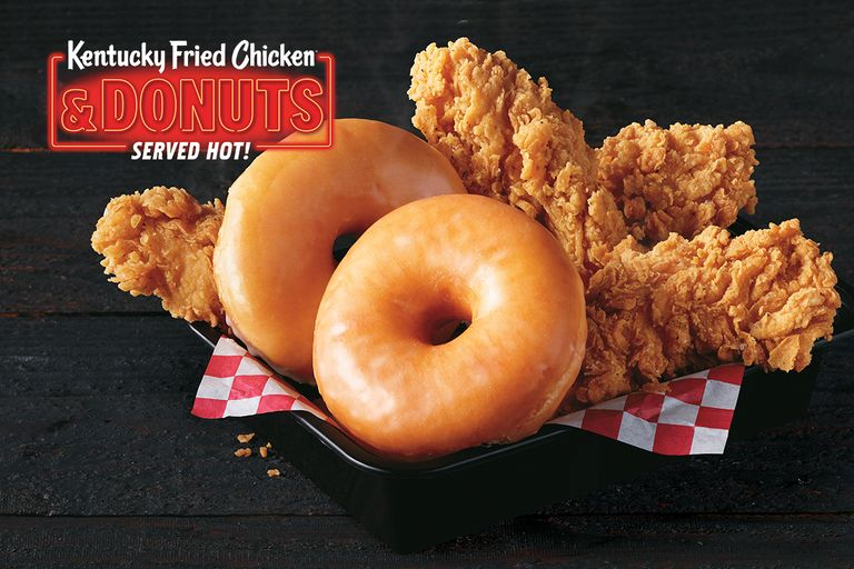 Donuts and Fried Chicken
